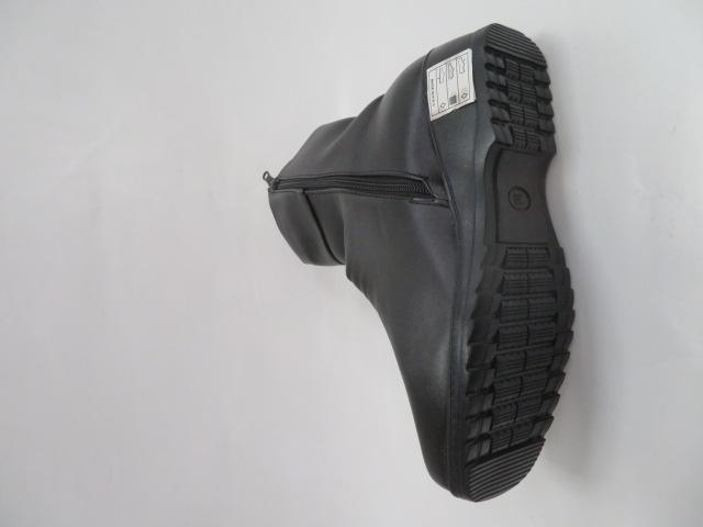 Botki Damskie B603, Black, 37-42 1