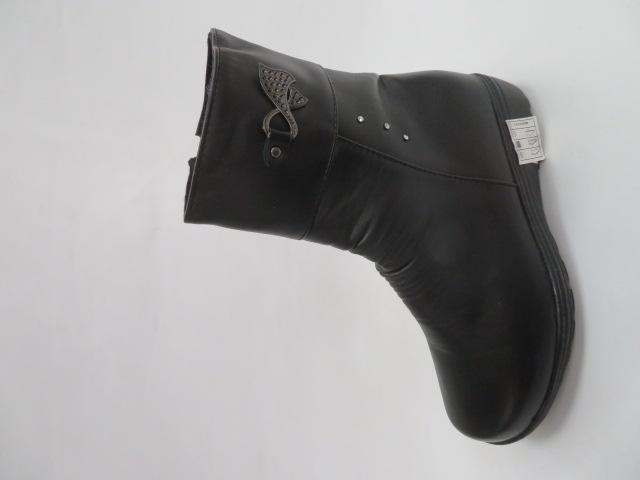Botki Damskie A58, Black, 37-42