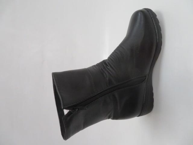 Botki Damskie A58, Black, 37-42 1