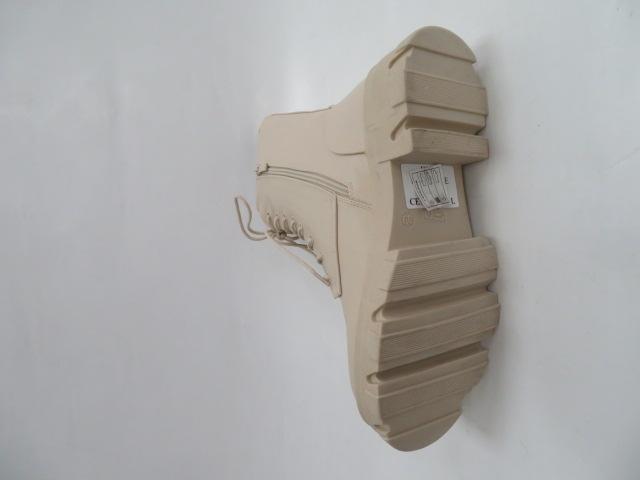 Botki Damskie B-694, Beige, 36-41 2