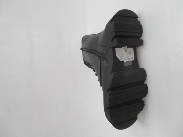 Botki Damskie B-694, Black, 36-41 2