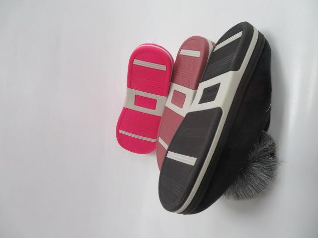Kapcie Damskie W143, Mix 3 color, 36-41 2