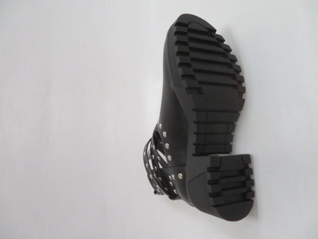 Botki Damskie RQ358, Black, 36-41 2