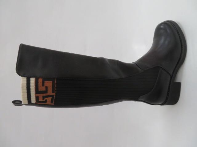 Botki Damskie RQ1905-1, Black, 36-41