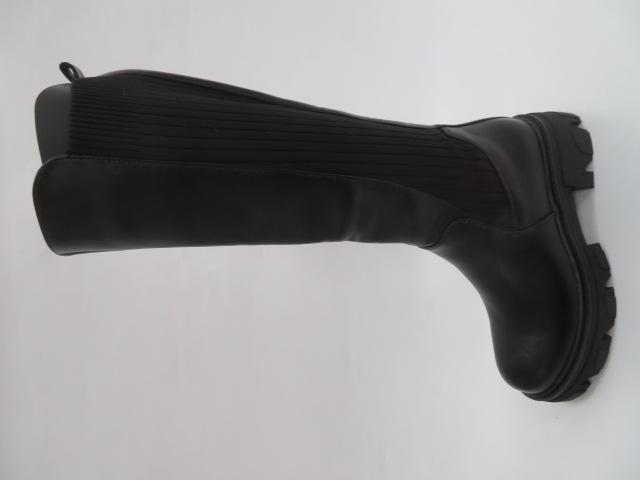 Kozaki Damskie JW143, Black, 36-41