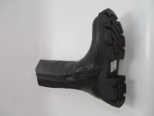 Kozaki Damskie JW143, Black, 36-41 2