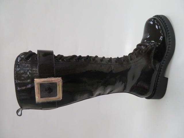Kozaki Damskie JW139-1, Black, 36-41