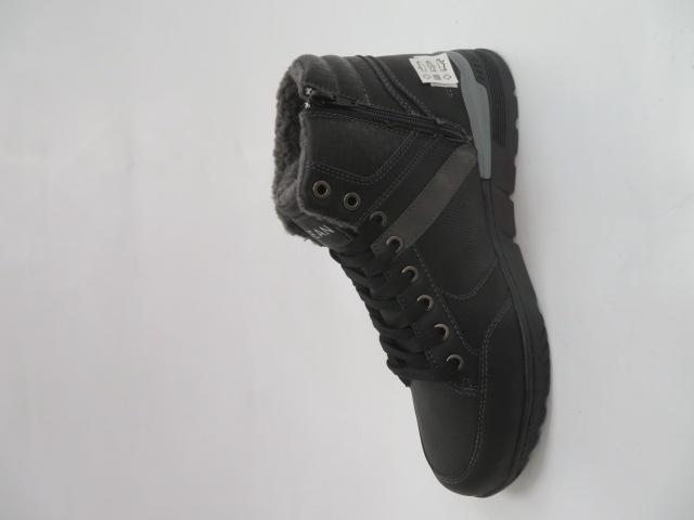 Trzewiki Męskie Zimowe A061-1, Black/Grey, 41-46 1