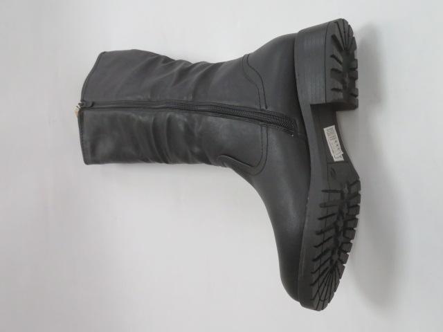 Kozaki Damskie X9812, Black, 36-41 3
