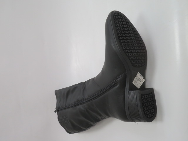 Kozaki Damskie X9827, Black, 36-41 2