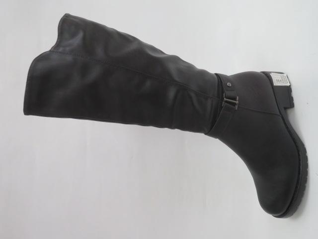 Kozaki Damskie X9813, Black, 36-41
