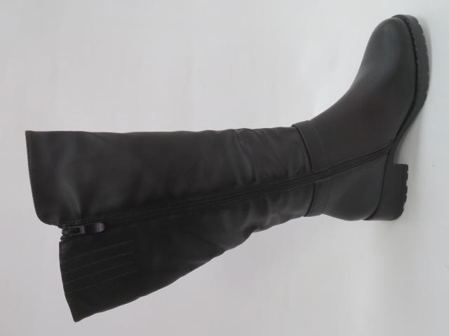 Kozaki Damskie X9813, Black, 36-41 1