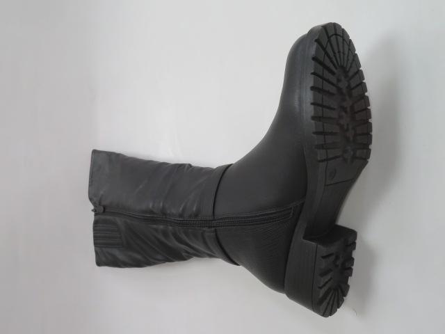 Kozaki Damskie X9813, Black, 36-41 3