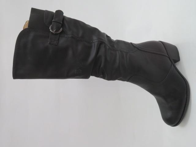 Kozaki Damskie X9801, Black, 37-41