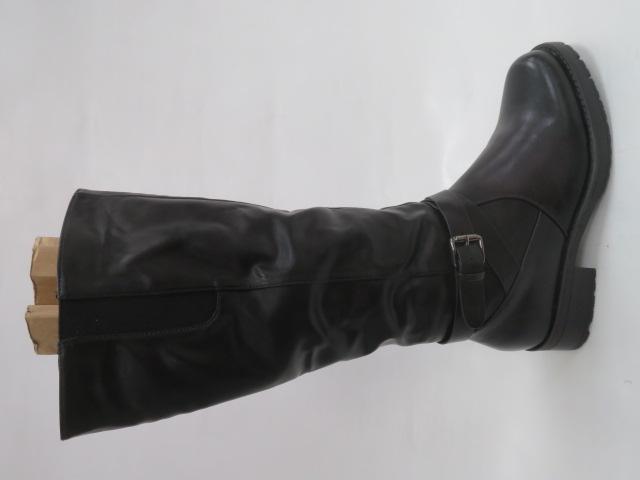 Kozaki Damskie 509-13A, Black, 37-41