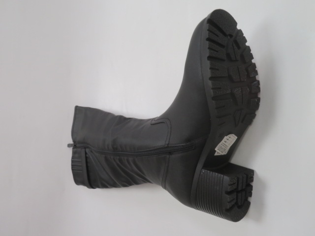 Kozaki Damskie X9834, Black, 36-41 2