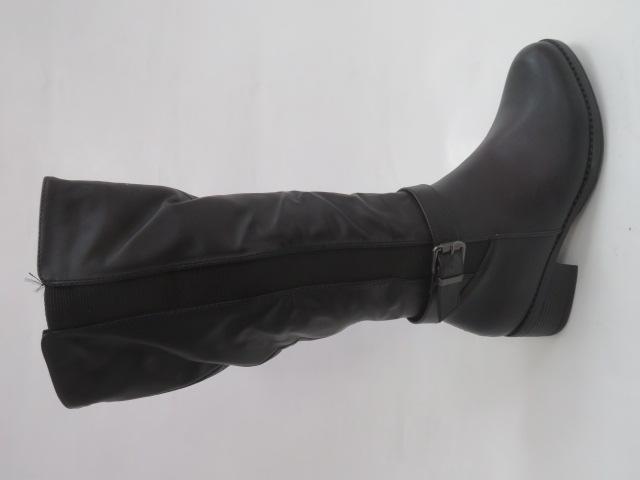Kozaki Damskie X9828, Black, 36-41