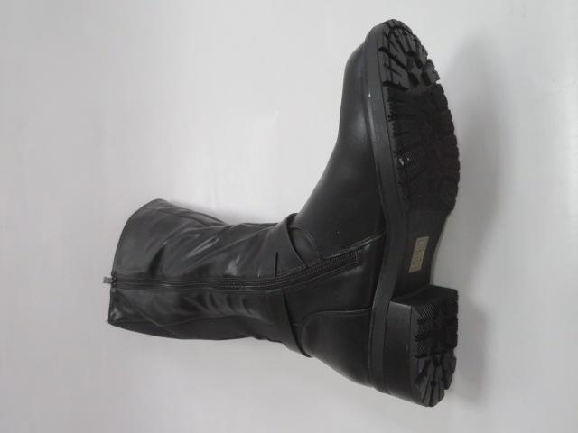 Kozaki Damskie 509-12A, Black, 36-41 2