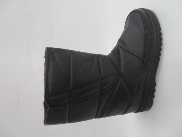 Trzewiki Męskie Zimowe H9083D, Black, 40-43