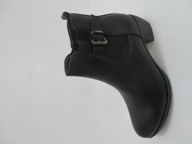 Botki Damskie X9814, Black, 36-41