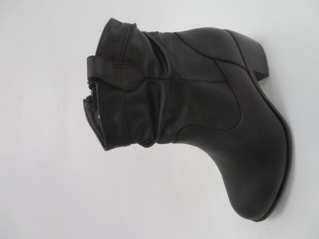 Botki Damskie X9799, Black, 36-41