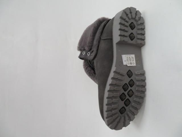 Botki Damskie 804F-3, DK Grey, 36-41 1