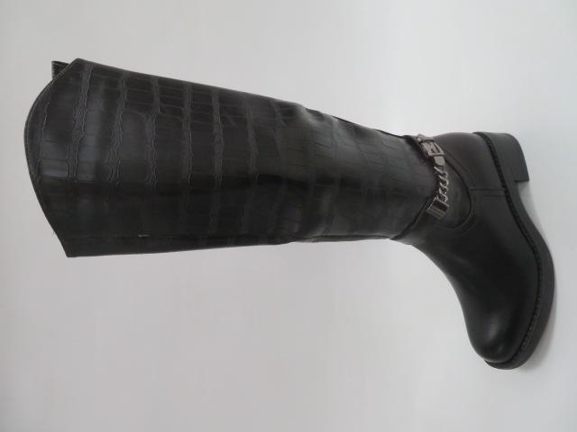 Kozaki Damskie 7780, Black, 36-41