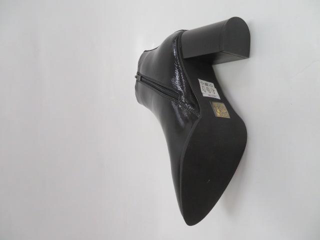Botki Damskie 88180, Black/PT, 36-41 2