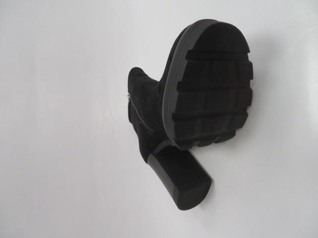Botki Damskie 8355-GA, Black, 36-41 2