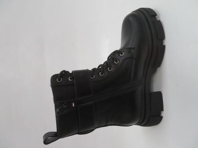 Botki Damskie LM-03, Black/PU, 36-41 3