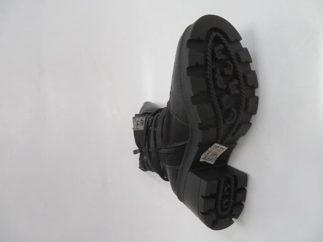 Botki Damskie 88178, Black, 36-41 2