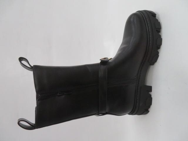 Botki Damskie LM-09, Black, 36-41 2