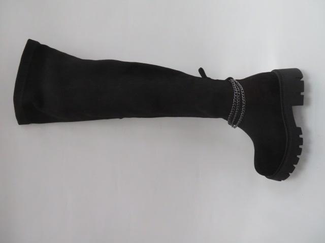Kozaki Damskie 8772-GG, Black, 36-41