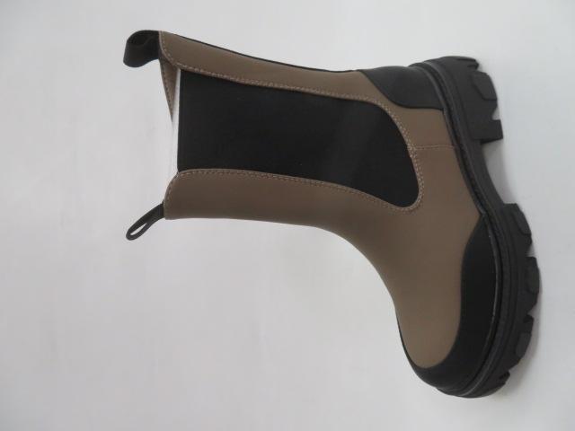 Botki Damskie XA032, Khaki, 36-41