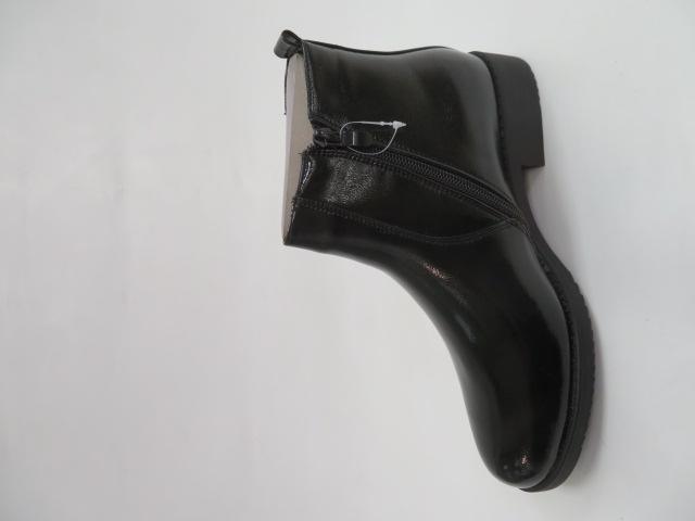 Botki Damskie S9187B, Black, 36-41 1