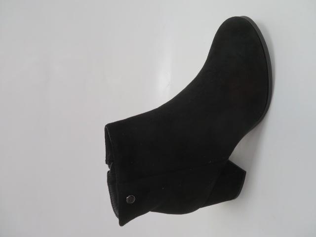 Botki Damskie A8167A, Black, 36-41