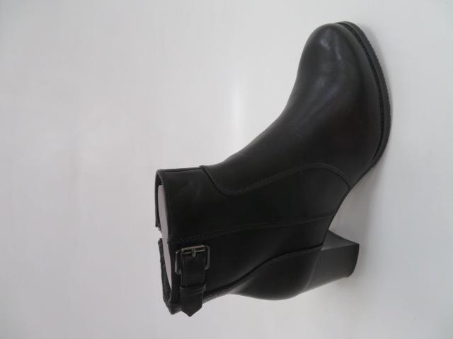 Botki Damskie B8903, Black, 36-41