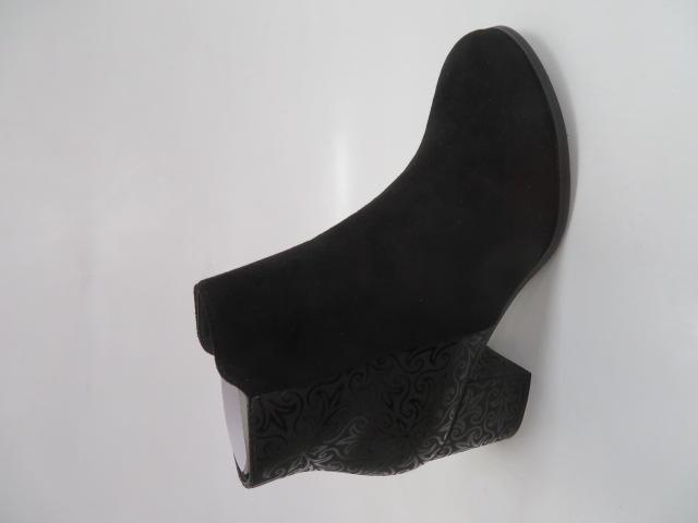 Botki Damskie A8165A, Black, 36-41