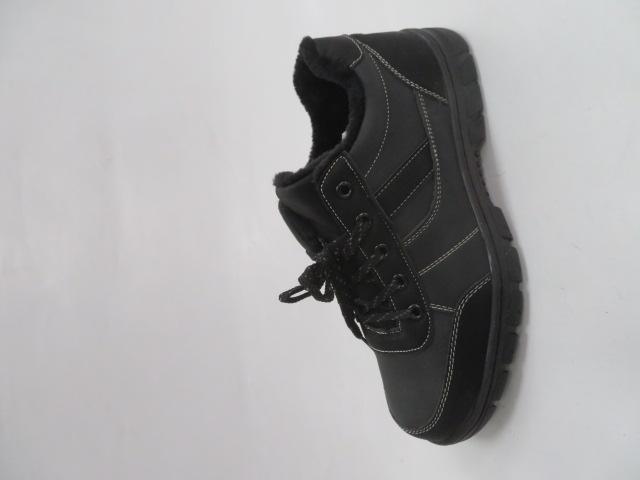 Buty Sportowe Męskie 703-3M,Grey/Black, 40-46