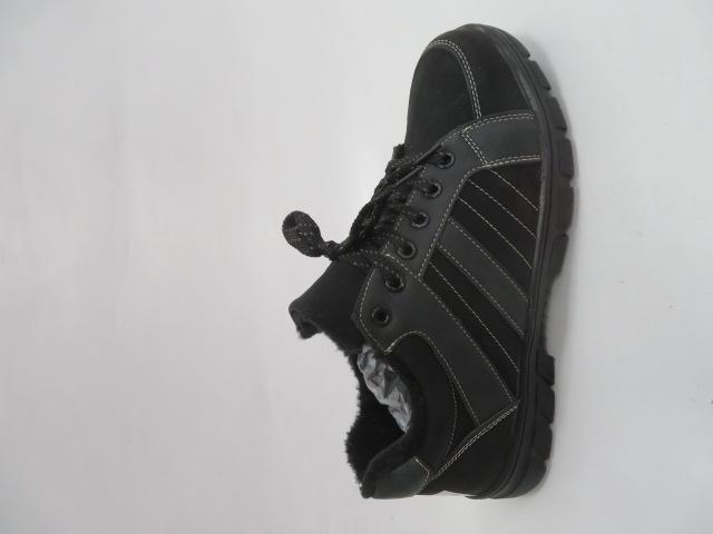 Buty Sportowe Męskie 702-3M, Grey/Black, 40-46