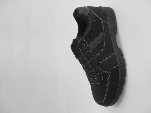 Buty Sportowe Męskie 703-1M, Black/Grey, 40-46