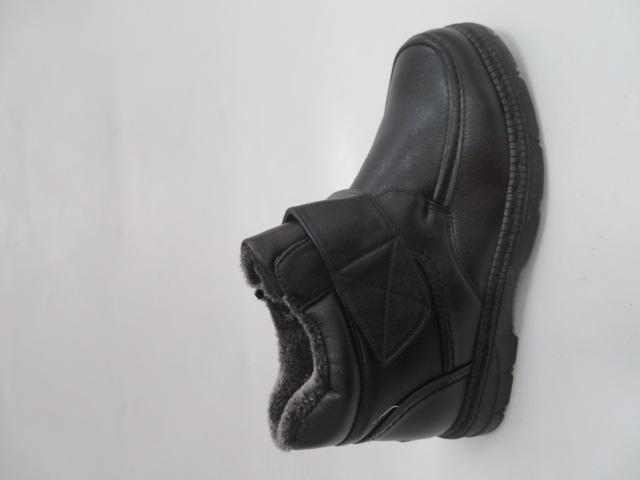 Trzewiki Męskie Zimowe A8658, Black, 40-46