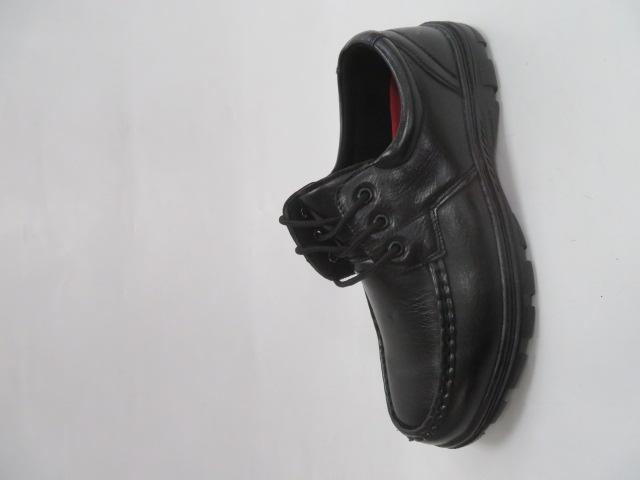 Półbuty Męskie FL021-5, Black, 40-46
