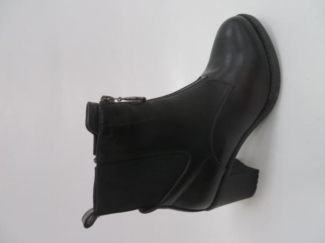 Botki Damskie SG363, Black, 36-41