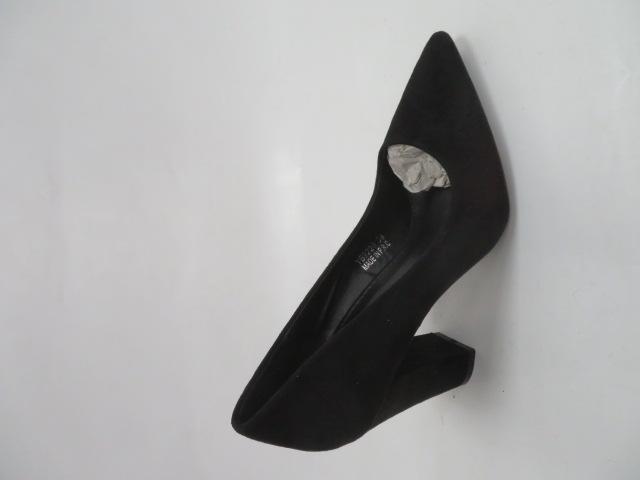 Czółenka Damskie YB9220, Black, 36-41