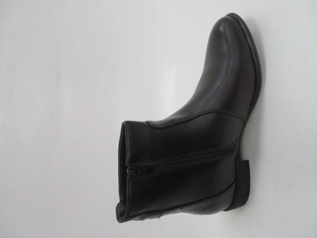 Botki Damskie Z19-004, Black, 36-41 1