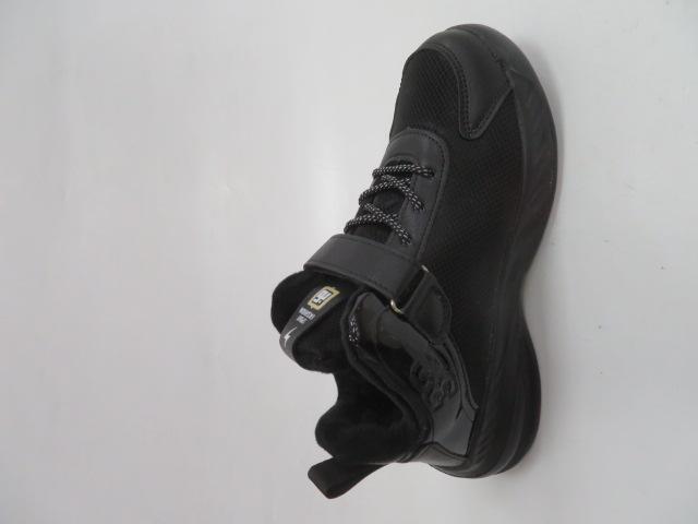 Buty Sportowe Dziecięce P690, Black/Yellow, 32-37 1