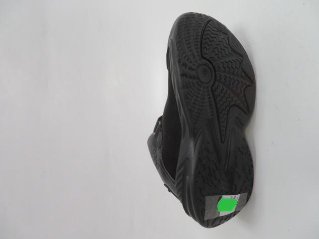Buty Sportowe Dziecięce P690, Black/Yellow, 32-37 2