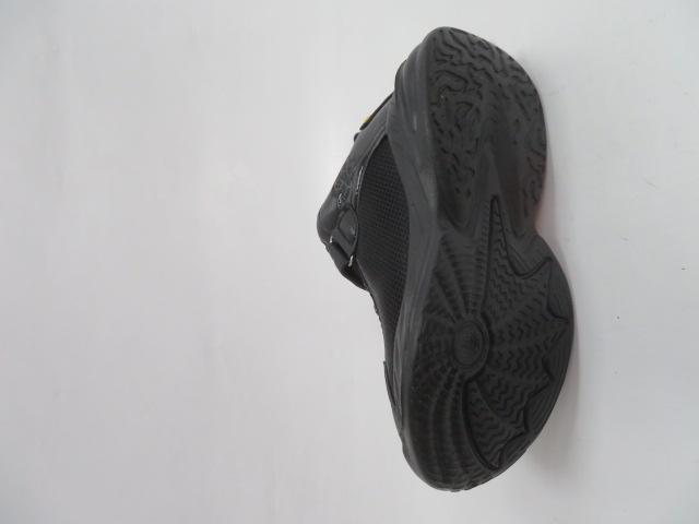 Buty Sportowe Dziecięce P690, Black/Red, 32-37 2