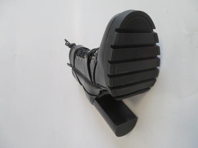 Botki Damskie M556, Black/Mirro, 36-41 3